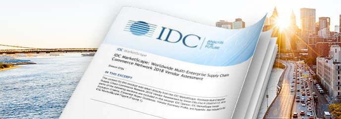 IDC Marketscape for Multi-Enterprise Supply Chain Networks brief cover image